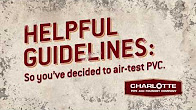 Air Testing Your Plumbing System Guidelines